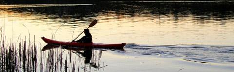 canoa lago